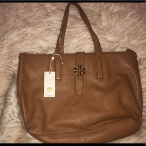 Brown Tory Burch Tote